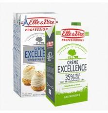 Crème Stérilisée 35% Elle & Vire 1L