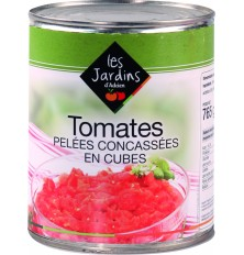 Tomates Pelées concassées