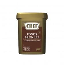 Fond Brun Lie Chef   0.600 Kg