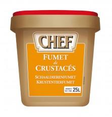 Fumet de Crustacés Chef Boite de  0.900 Kg