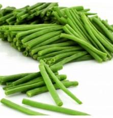 Haricots verts éboutés