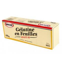 Gelatine Feuille Or