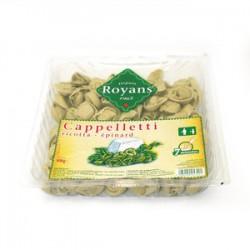 Cappelletti ricotta épinard sachet