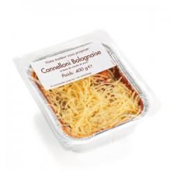 Cannelloni bolognaise barquette