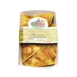 Triangolini au basilic et légumes grillés barquette