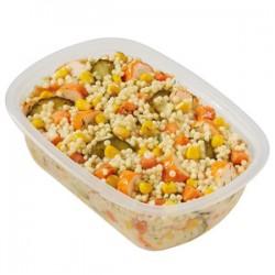 Salade de perles marines sauce citronnée