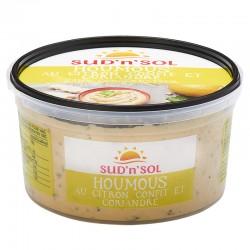 Houmous citron confit et coriandre