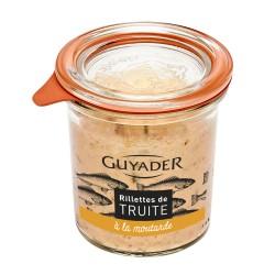 Rillette de truite à la moutarde