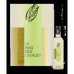 vin blanc Mas des Cigales 2018 Château Saint-Preignan