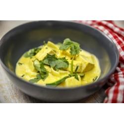 Curry de tofu au lait de...