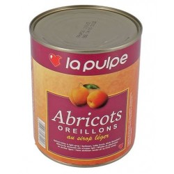 Abricots oreillons au sirop léger