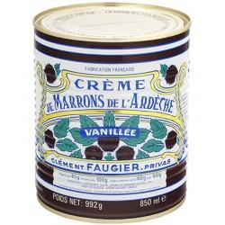 Crème de marrons vanillée de l'Ardèche, 850mL