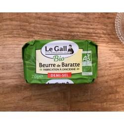 Beurre de baratte bio demi-sel Le Gall