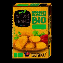 Nuggets de poulet bio Nature de France