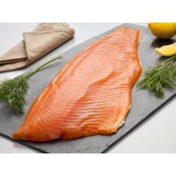 Filet entier de saumon fumé